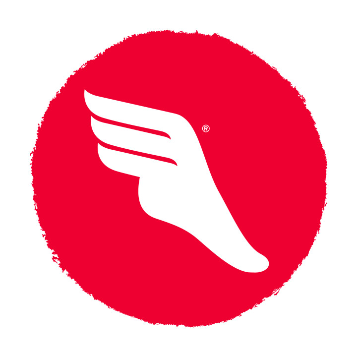 The Athlete's Foot Icon circle_RGB_red
