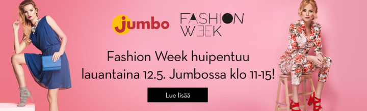Fashion week banneri jumbo.fi 7.5. alk.